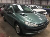 2001 Peugeot 206 2.0 HDI Eco £30 Year Tax Turbo Diesel Cheap Car Clio 307 Focus Punto Mondeo Astra