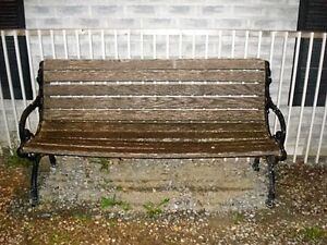 """A Real """"PARK BENCH""""  Very Heavy Peterborough Peterborough Area image 4"""