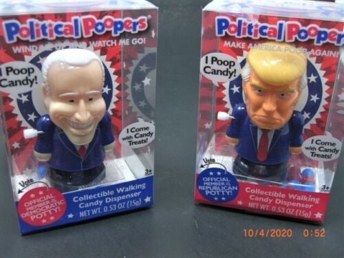 Trump & Biden Walking POOPERS - Support One or Both or Race To See Who Wins