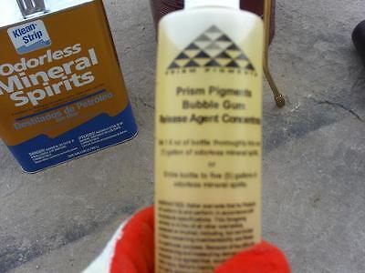 Bubble Gum Clear Release Agent Concentrate Concrete Cement Stamps Mats Forms