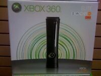 microsoft xbox 360 elite 120 gig gb games console black BRAND NEW RARE sealed