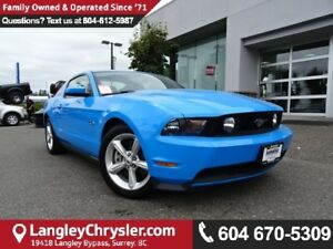 2011 Ford Mustang GT *ACCIDENT FREE*ONE OWNER*LOCAL BC CAR*