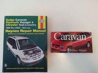 Dodge Caravan Shop Repair Manual & Owners Manual