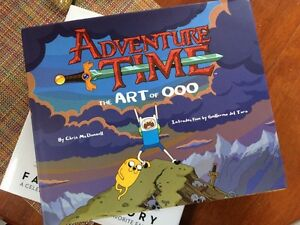 Adventure Time book Edmonton Edmonton Area image 1