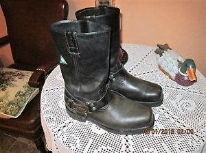 Harley Davidson MC leather boots