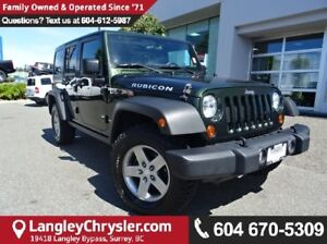 2012 Jeep Wrangler Unlimited Rubicon w/ LEATHER INTERIOR & HE...