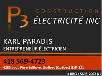 Service d'électricien, meilleur prix à Québec!