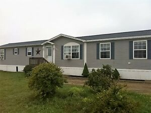 RECENTLY RENOVATED MINI HOME ON 3 ACRES!