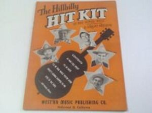 THE HILLBILLY HIT KIT - 15 BIG SONG HITS - 5 GREAT ARTISITS