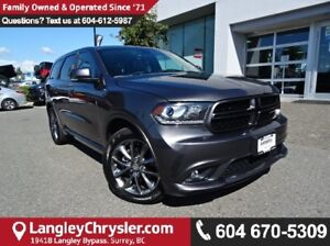 2017 Dodge Durango GT *ACCIDENT FREE*ONE OWNER*LOCAL BC SUV*