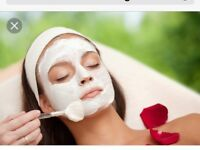 Ladies facials and pampering