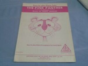 THE PINK PANTHER - Easy To Play Piano Solo SHEET MUSIC