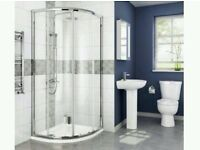 700 x 700 Quadrant Shower, Brand New Boxed without Tray RRP: £189
