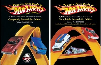 Hot Wheels Price Guide 6th Edition Volume 1 and 2 Tomart's 1968/2009