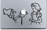"Apple Macbook 13"" Snow White and Witch Skin Art Decal Sticker"