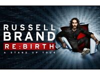 **Russell Brand - 2 Front Arena Stall Seats