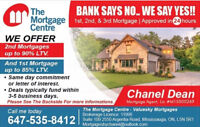 Your Approved Call Today 2nd Mortgages Up To 85% LTV