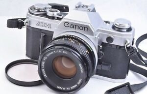 Canon AE1  35mm Film Camera