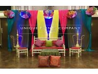 Asian Wedding Stage Hire- We Cover All Areas * Special Offers*