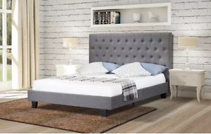 """BRAND NEW """"NORMA"""" Modern Fabric Bed Frame DOUBLE QUEEN KING SIZES Reservoir Darebin Area Preview"""