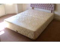 Vi-Spring King Size Divan Bed Base - EXCELLENT CONDITION