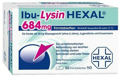 Ibu-Lysin HEXAL 684 mg Tabletten 50 St PZN: 10333719