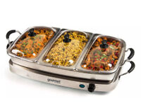 Sensiohome Gourmet 6.4L Buffet Server and Warming Tray