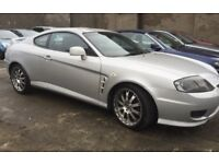 Hyundai Coupe 2.7 V6 with 12 months MOT £995