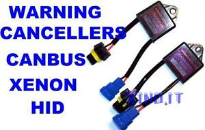 KIT-COPPIA-CONDENSATORI-FILTRI-WARNING-CANCELLER-XENON-XENO-HID-Anti-Spie-CANBUS
