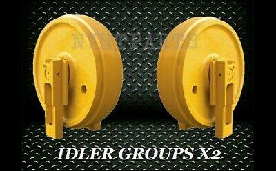 Idler Gp With Brackets X2 For John Deere 450d Dozer Front