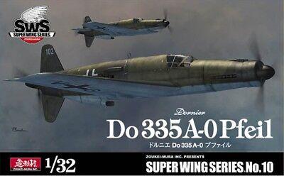 Zoukei Mura - Super Wing Series SWS10 - 1/32 Dornier Do335A-0 Pfeil - Neu