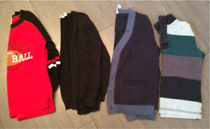 Boys sweaters and cardigans