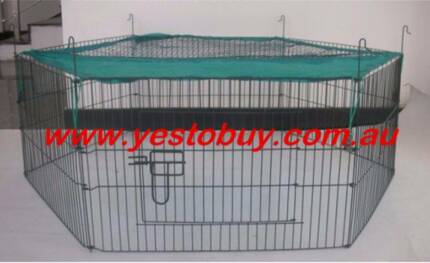 Mini Pet Playpen Guinea pig Hamster Bunny Playpen Cage with cover