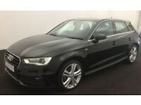 Audi A3 S Line FROM £62 PER WEEK!