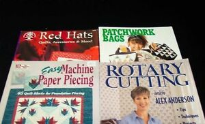 craft & quilting books from $4 to $10