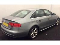 Grey AUDI A4 SALOON 1.8 2.0 TDI Diesel SPORT S LINE FROM £45 PER WEEK!