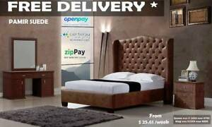 Brand New Premium Quality Fabric Queen/King Bed from $42 P/W Brisbane City Brisbane North West Preview