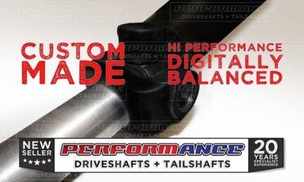 """Custom 1350 3"""" Drag Race Tailshaft Driveshaft Holden HQ HZ WB"""