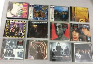 A FANTASTIC COLLECTION ROLLING STONES CD'S