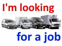 I'm looking for a job in London. I could work as a driver (for example - delivery car driver). I
