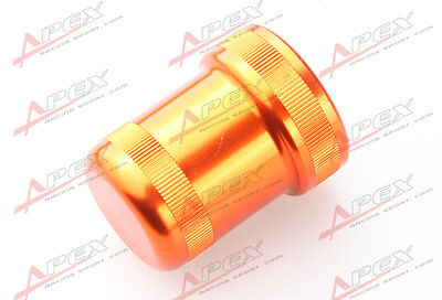 BILLET ALUMINUM SMALL SOLENOID COVER FOR VTEC/VTECH ENGINE ORANGE for sale  Shipping to Canada