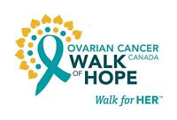 The Ovarian Cancer Canada Walk of Hope needs a cheer squad