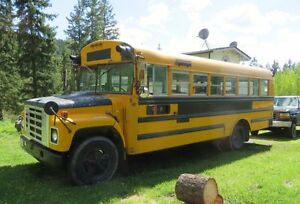 1979 International school bus.