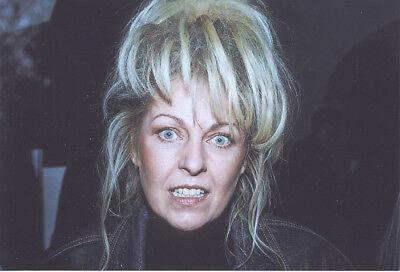 Foto ostdeutsche Sängerin TAMARA DANZ - Aufnahme von 1992 - Pressefoto Silly DDR