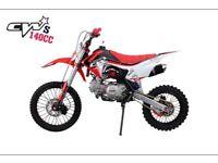 Cw bikes 140s pitbike/motorbike/mx/motocross/crf/stomp/klx
