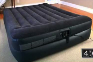 Sale INTEX Airbed: New Brand, Built-in Electric Pump, Queen Size