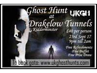 Ghost hunt at drakelow tunnels in kidderminster