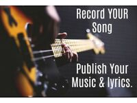 Record Your Song - I'll Record YOUR Song with a Full Band.