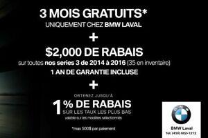 2015 BMW 328I xDrive GROUPE M PERFORMANCE, CAMÉRA DE RECUL