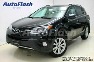 2015 Toyota RAV4 Limited * Cuir-2-Tone-Leather! GPS/Camera